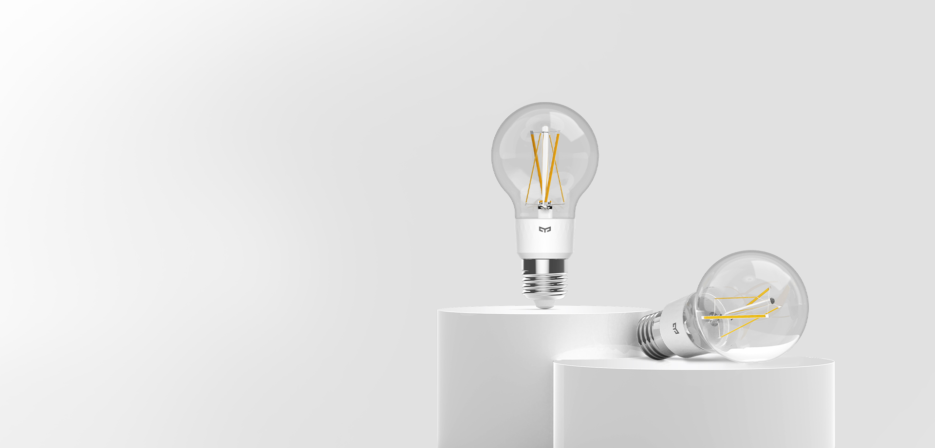 Smart LED Filament Lampe » Grundbeleuchtung